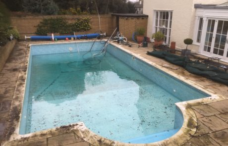 Kent Pool Refurb Before and after